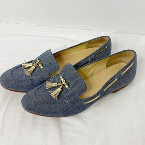 Cole Haan Canvas Loafers Sz 10.5